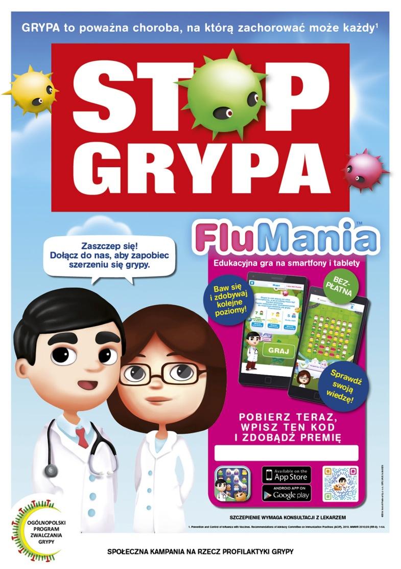 FluMania plakat A2-1